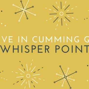 Live In Whisper Point Cumming Neighborhood